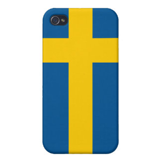 Sweden Flag iPhone iPhone 4 Case