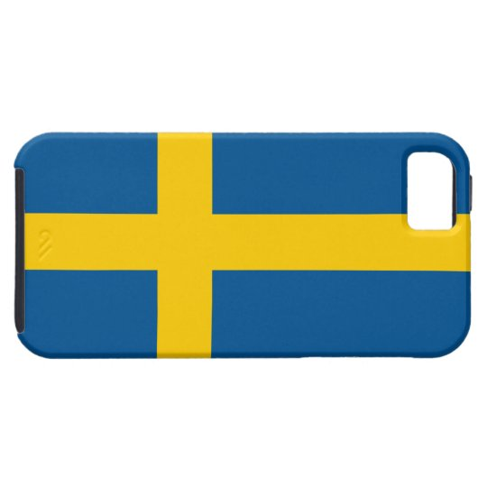 Sweden Flag iPhone SE/5/5s Case