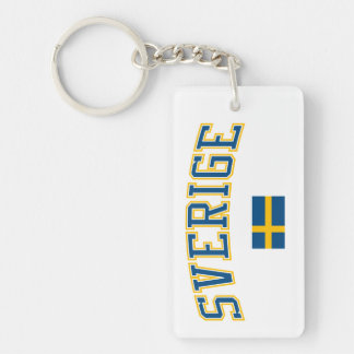 Sweden + Flag Keychains