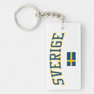 Sweden + Flag Keychain