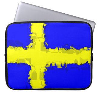 SWEDEN FLAG Laptop Sleeve