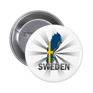 Sweden Flag Map 2.0 Button