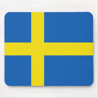 Sweden Flag Mousepad
