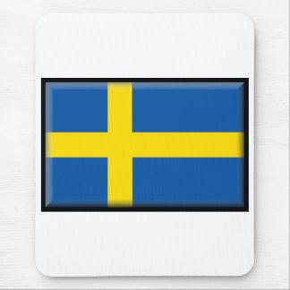 Sweden Flag Mouse Pad