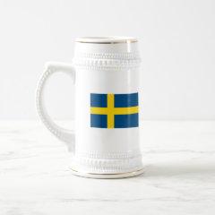 Swedish Flag Stein