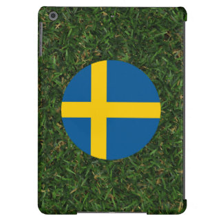 Sweden Flag on Grass iPad Air Case