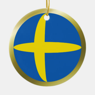Sweden Flag Ornament