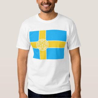 Sweden Flag Pentagram Shirt