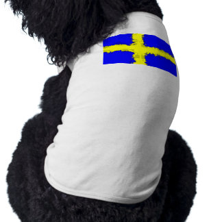 SWEDEN FLAG Pet Shirt
