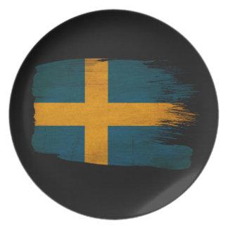 Sweden Flag Dinner Plates