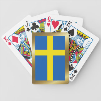 Sweden Flag Playing Cards