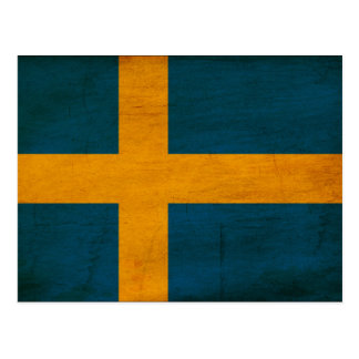 Sweden Flag Postcard