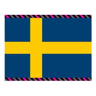 Sweden Flag Post Cards