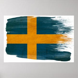 Sweden Flag Posters