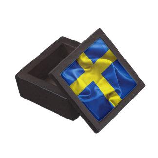 Sweden Flag Premium Keepsake Box