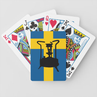 Sweden flag  | Pressure stove Bicycle Playing Cards