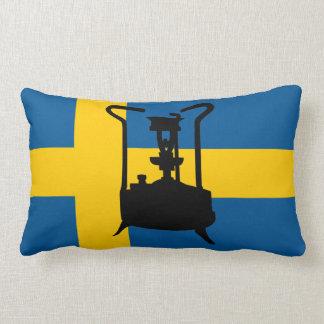 Sweden flag  | Pressure stove Lumbar Pillow