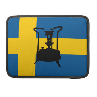 Sweden flag  | Pressure stove MacBook Pro Sleeve
