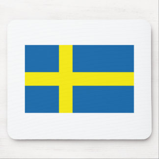Sweden Flag Products Mouse Pad