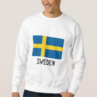 Sweden Flag Pullover Sweatshirt