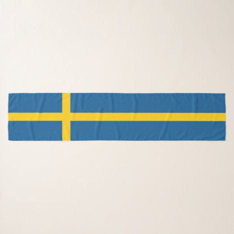 Sweden Flag Scarf