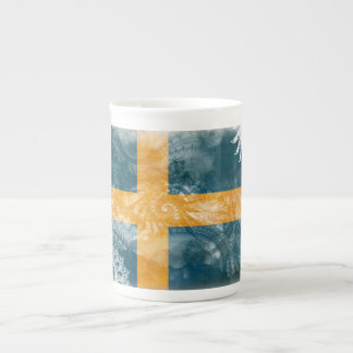 Sweden Flag Tea Cup