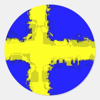 SWEDEN FLAG Sticker