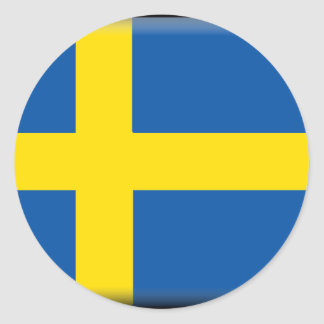 Sweden Flag Stickers