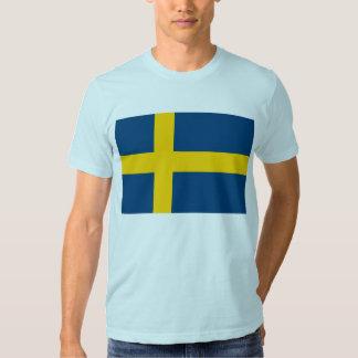 Sweden Flag T Shirt