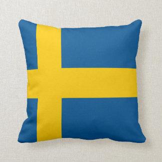 Sweden Flag Throw Pillow