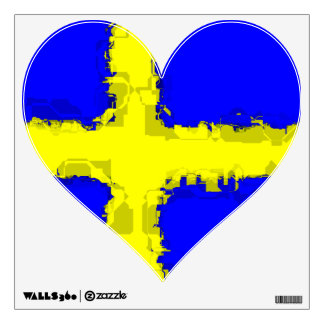 SWEDEN FLAG Wall Decal