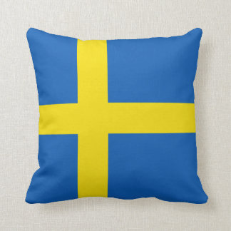 Sweden Flag x Flag Pillow
