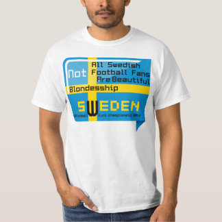 Sweden, football championship, Ukraine, Poland T-Shirt