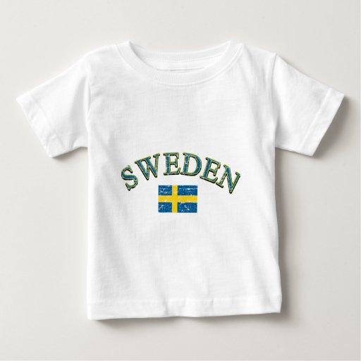 Sweden football design shirt