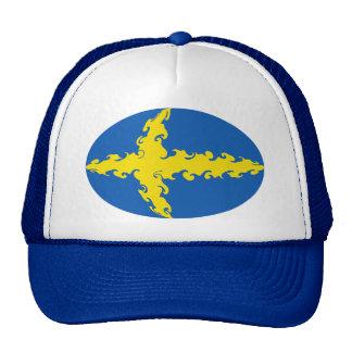 Sweden Gnarly Flag Hat