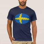 Sweden Gnarly Flag T-Shirt