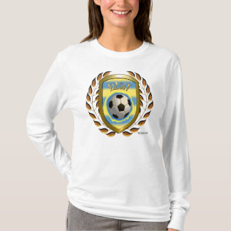 Sweden Goal! Ladies Long Sleeve Shirt
