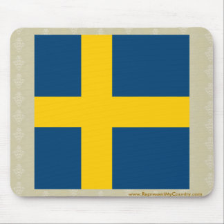 Sweden High quality Flag Mouse Pad