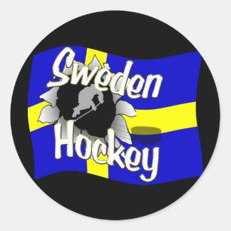 Sweden Hockey Sticker