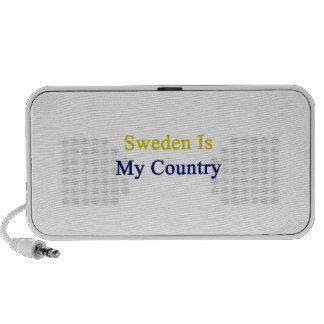 Sweden Is My Country Laptop Speaker