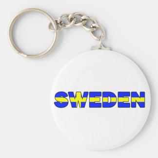 Sweden Keychain
