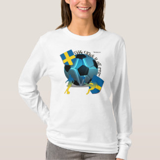 Sweden Kickin It Ladies Long Sleeve Shirt