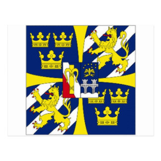 Sweden Kings Personal Standard Postcard