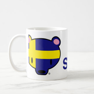 Sweden kuma-chan coffee mug