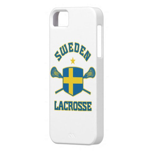 Sweden Lacrosse iphone 5 cover iPhone 5 Cover