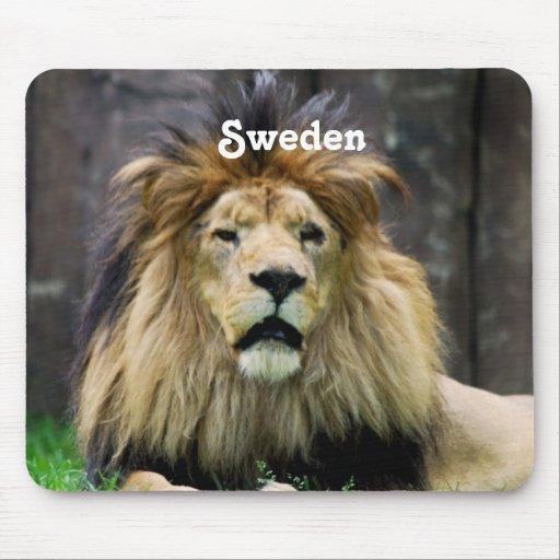 Sweden Lion Mousepad
