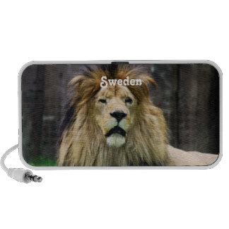 Sweden Lion Travelling Speaker