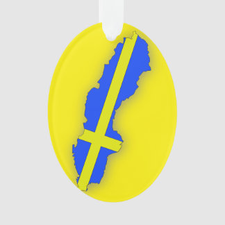 Sweden Flag Holiday Decorations Christmas Décor Zazzle - Sweden map flag