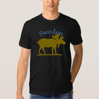 Sweden Moose Shirt