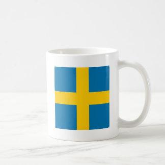 Sweden Classic White Coffee Mug